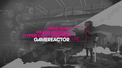 GRTV Live: Headlander & Hyper Light Drifter
