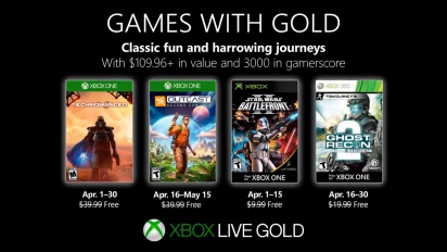 Xbox - April 2019 Games with Gold