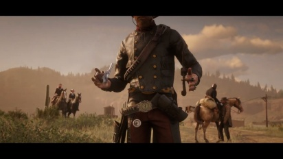 Red Dead Online - Bounty Hunters Trailer