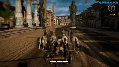 Assassin's Creed Origins - Kappløp med hest og vogn