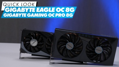 Gigabyte Eagle OC 8G & Gigabyte Gaming OC Pro 8G - Quick Look