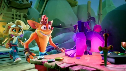 Crash Bandicoot 4: It's About Time - Playstation 5 Features Trailer