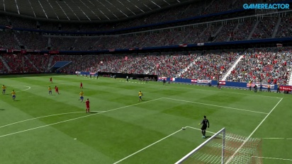 Gameplay: FIFA 14 - Bayern vs Arsenal