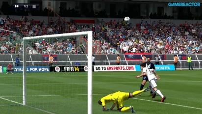 Gameplay: FIFA 14 - PSG vs Leverkusen