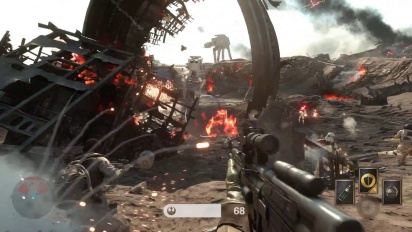 Star Wars Battlefront: Battle of Jakku - Gameplay Trailer