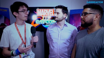 Marvel vs. Capcom: Infinite - Michael Evans & Peter Rosas-intervju