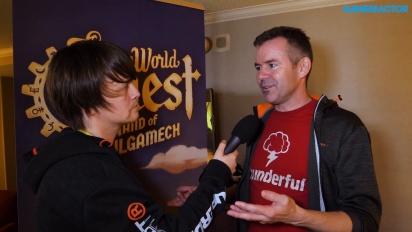 SteamWorld Quest: Hand of Gilgamech - Brjann Sigurgeirsson Interview
