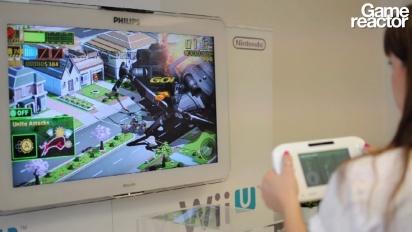 E3 12: Project P-100 - Wii U Gameplay