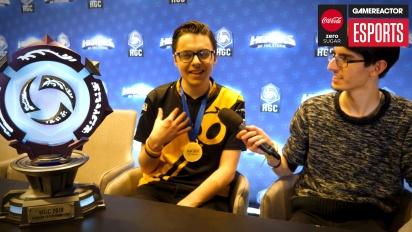 IEM Katowice 2018 Western Clash - Snitch Post-Final Interview