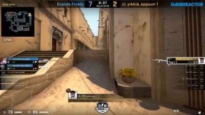 OMEN by HP Liga - Div 3 Round 3 - cl_yrkkiä_eppuun 1 vs Grande Finale - Mirage.