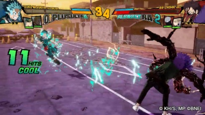 My Hero One's Justice 2 - Deku vs. Overhaul Gameplay (Spoiler)