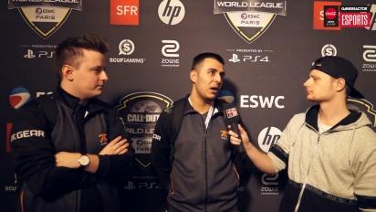 CWL Open Paris - Vi snakker med SunnyB og Tommey