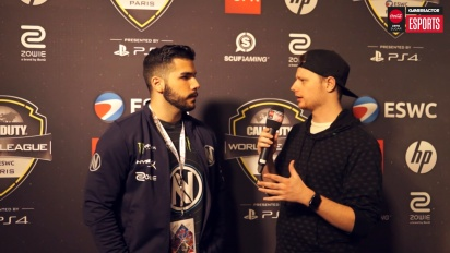 CWL Open Paris - Apathy-intervju