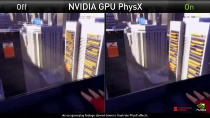 Mirror's Edge - NVIDIA Physx Demo Trailer