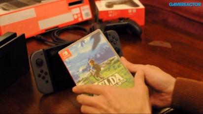 The Legend of Zelda Breath of the Wild for Nintendo Switch - Gamereactor Unboxing