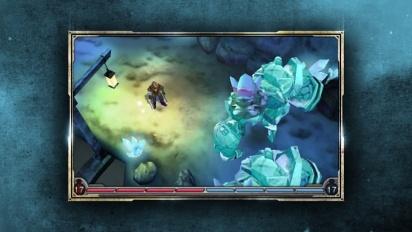 Heroes of Ruin - Multiplayer walkthrough trailer.