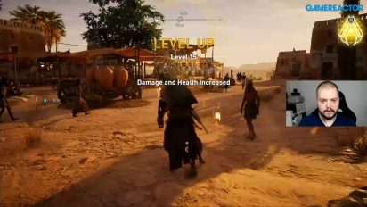 GR Live Sverige Reprise - Assassin's Creed Origins (igjen)