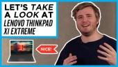 Vi tar en titt på Lenovo ThinkPad X1 Extreme