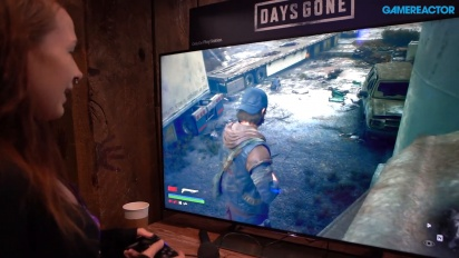 We play some Days Gone at PAX East 2019