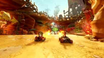 Crash Team Racing Nitro-Fueled - Rustland Grand Prix