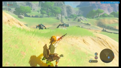 The Legend of Zelda: Breath of the Wild DLC 1 - Master Mode Gameplay