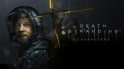 Death Stranding - Karakterene (Sponset #2)