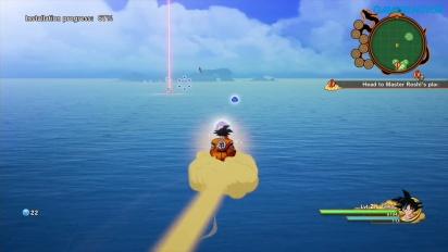 Dragon Ball Z: Kakarot - Radditz angriper Goku