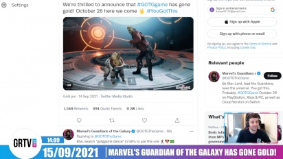 GRTV News - Marvel's Guardians of the Galaxy has gone gold