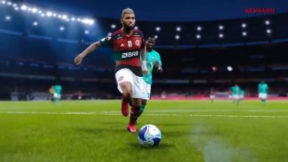 eFootball PES 2021 - Flamengo announcement trailer