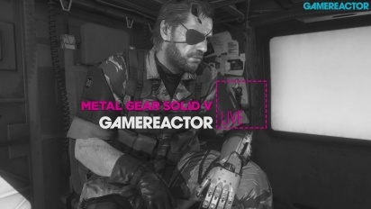 GRTV Live: MGSV: The Phantom Pain - Del 1