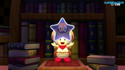 Gameplay: Captain Toad: Treasure Tracker: Mission 1-7 Spinwheel Library