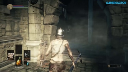 Dark Souls III - Gameplay Xbox One - High Walls of Lothirc