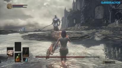 Dark Souls III - Gameplay Xbox One - Treningsboss