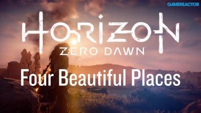 Horizon: Zero Dawn - Fire vakre områder