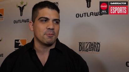 Overwatch League – intervju med Matt 'Flame' Rodriguez (Houston Outlaws)