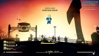 Fallout 76 - Watching the Nuke Gameplay