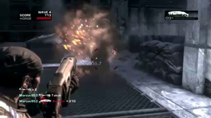 Gears of War 2 - Snowblind Map Pack Debut Walkthrough Trailer