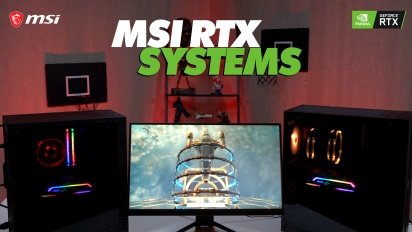 MSI RTX Systems Showcase - RTX. It's On
