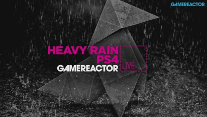 GRTV Live: Heavy Rain (PS4) + Firewatch