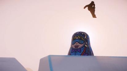 Snow - Snowboard Trailer