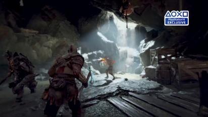 God of War - PGW 2017 Combat Trailer