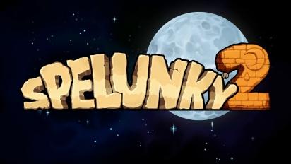 Spelunky 2 - PGW 2017 Announce Trailer