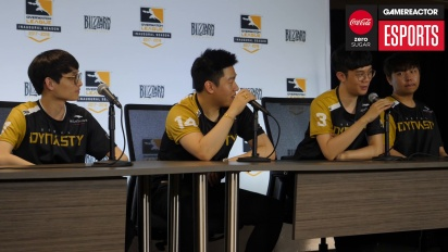 Overwatch League – Seoul Dynasty pressekonferanse (Dag 1 )