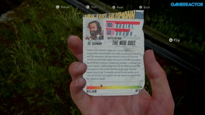 The Last of Us: Part II - Dr. Uckmann-sambleobjekt