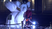 The Last Guardian - Trico Snow Sculpture