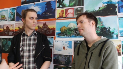 Yoku's Island Express - Jens Andersson & Linus Larsson-intervju