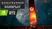 Ghostrunner - Gameplay + Ray Tracing