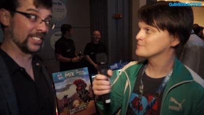 Adult Swim Games @ E3 2016 - Sean Baptiste-intervju