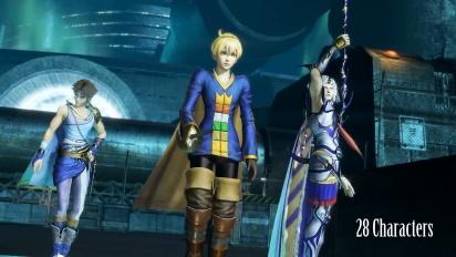Dissidia Final Fantasy NT - Open Beta Trailer