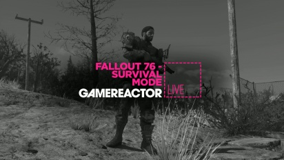 Fallout 76: Survival Mode - Livestream Replay